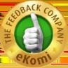 Mit Gold verziert<br>eKomi Stempel!
