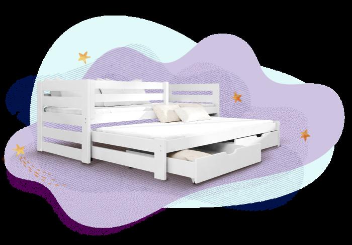 Ausziehbett die perfekte Lösung für das Kinderzimmer